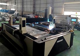 角铁法兰框自动焊接机器人